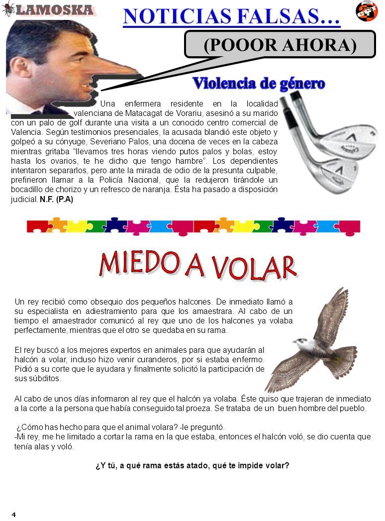 Una enfermera residente en la localidad valenciana de Matacagat de Vorariu, asesinó a su marido con un palo de golf durante una visita a un conocido c