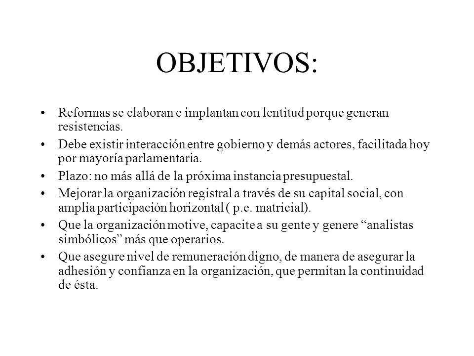 PROBLEMAS ACTUALES Estructura jerárquica tradicional.