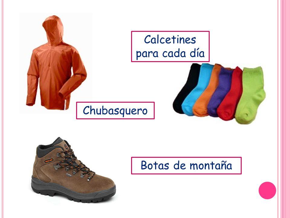 Calcetines para cada día Chubasquero Botas de montaña