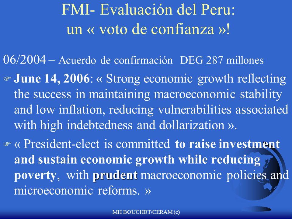 MH BOUCHET/CERAM (c) Evaluacion de Peru por el FMI (10/2005) F