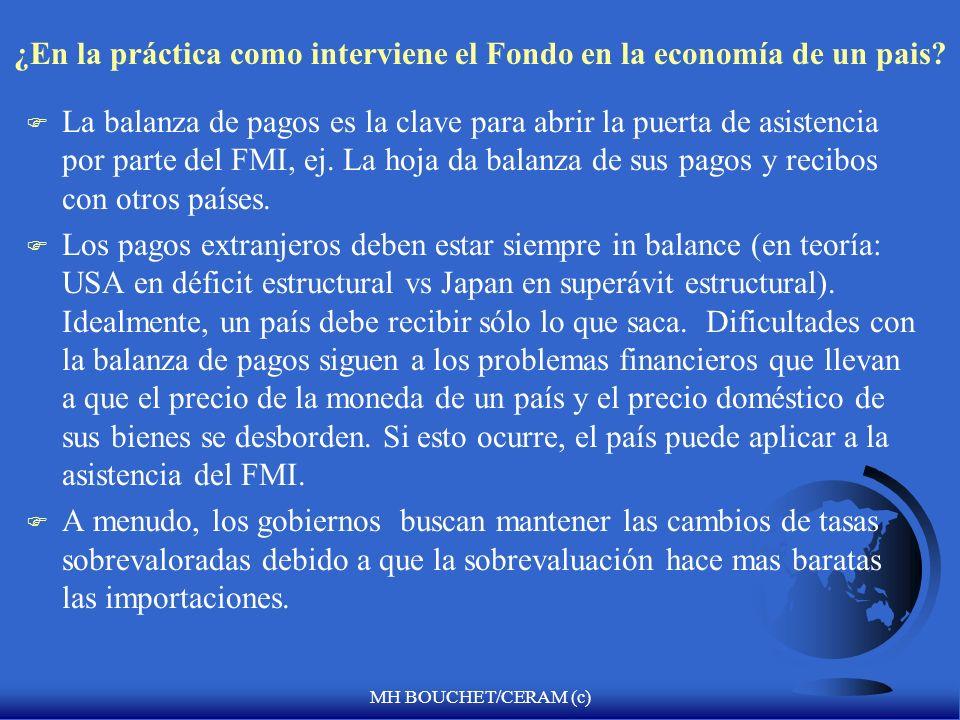 MH BOUCHET/CERAM (c) Las facilidades mas recientes del FMI F 04/1999/Líneas de Crédito de Contingencia, como líneas de precaución de defensa contra lo