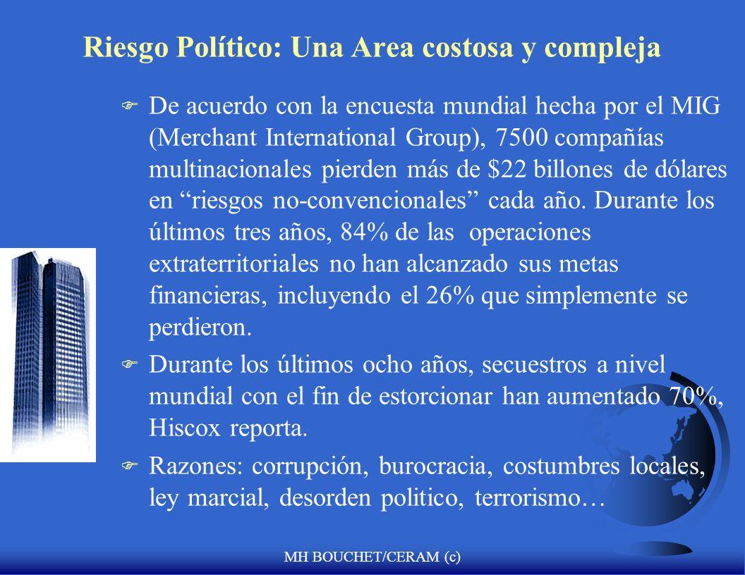 MH BOUCHET/CERAM (c) Anticipar la volatilidad y la incertidumbre en el Perú 2007? - nuevo eje Caracas-Managua-Quito-La Habana-La Paz: politica regiona