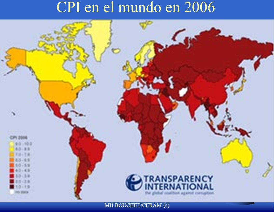 MH BOUCHET/CERAM (c) CPI Indice en 2006 F 1 Islandia F 2 Finlandia F 21 Chile F 65 Ghana F 66 Mexico F 67 Panama F 65 Peru F 69 Turkey F 70 Burkina Fa