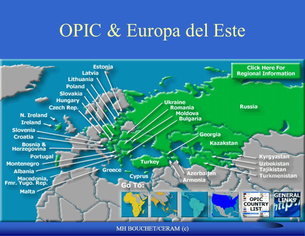 MH BOUCHET/CERAM (c) OPIC F Overseas Private Investment Corporacion de inversión privada F Agencia del gobierno Independente del Gobierno Federal de E