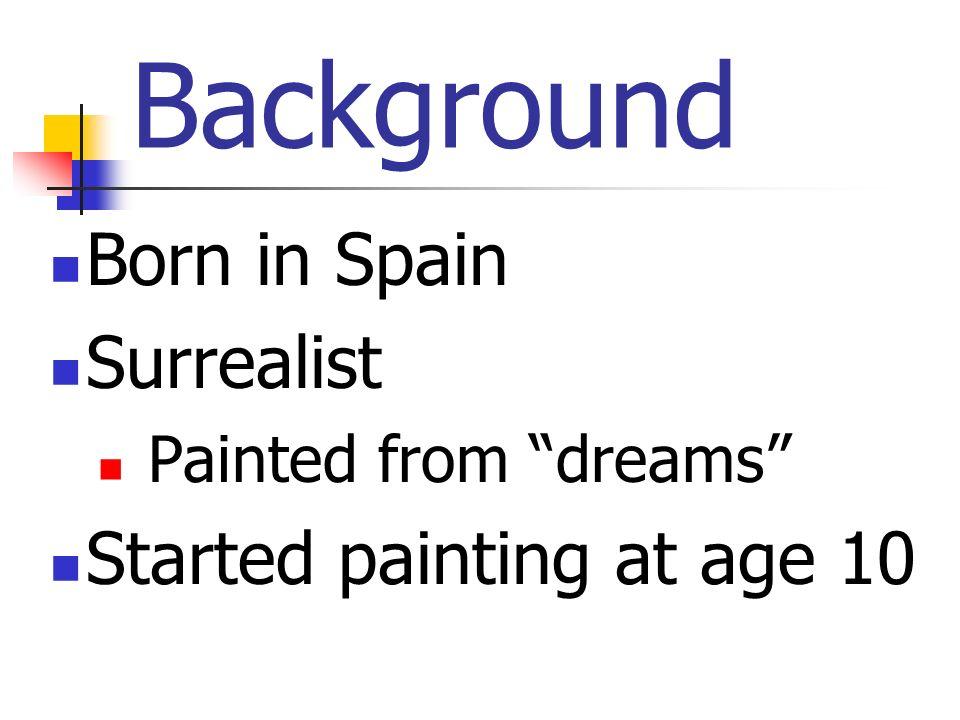Salvador Dali – Artist and Madman p.