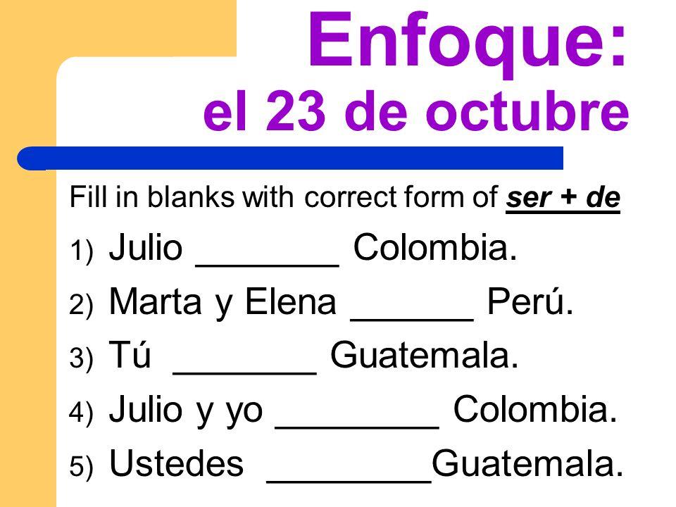 Agenda de Hoy Express what people like to do using gustar – ¡Cantamos.