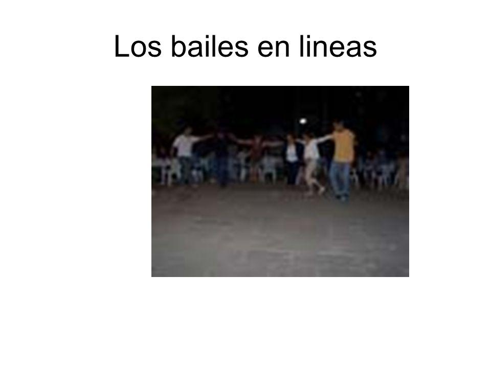 Los bailes en lineas