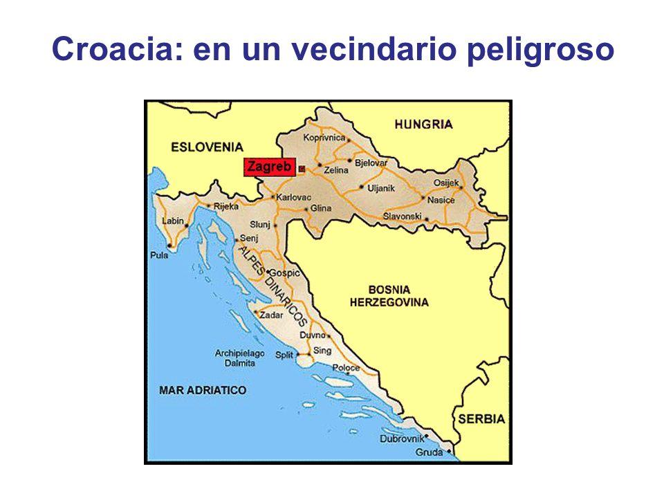 Croacia: en un vecindario peligroso