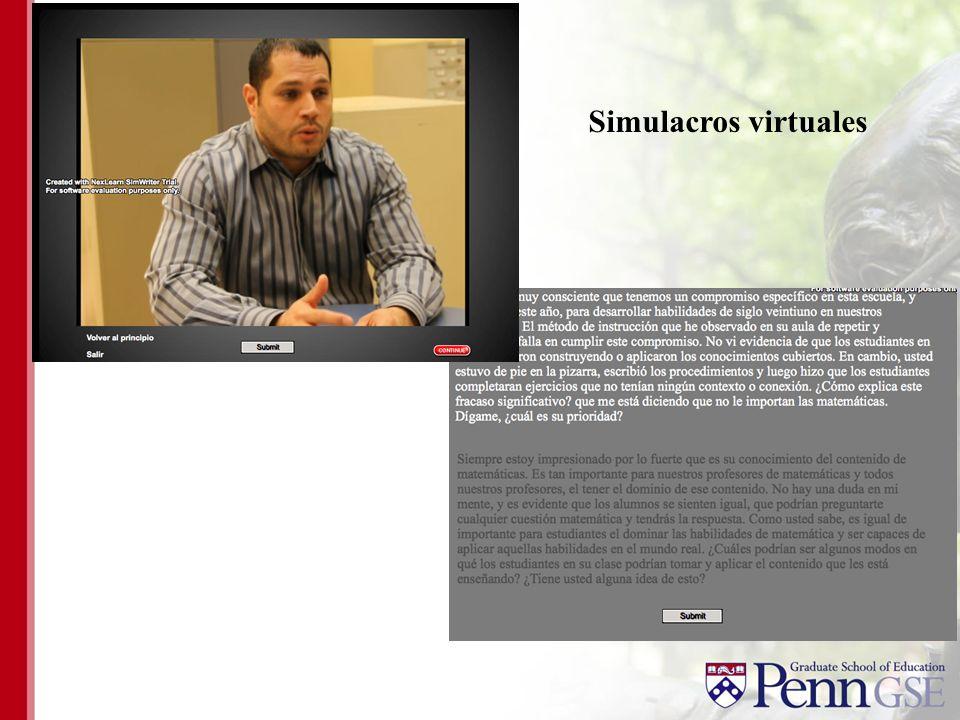 Simulacros virtuales