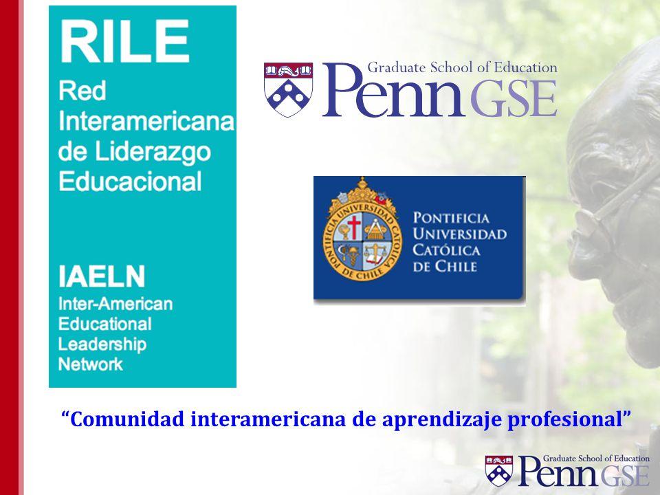 Comunidad interamericana de aprendizaje profesional