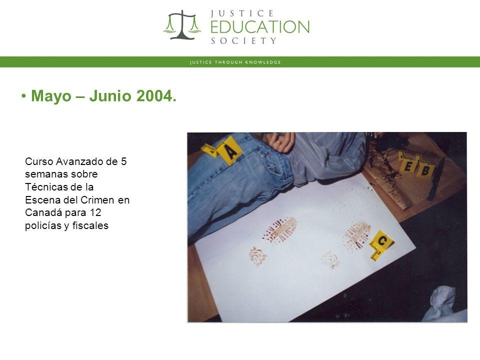 Mayo – Junio 2004.