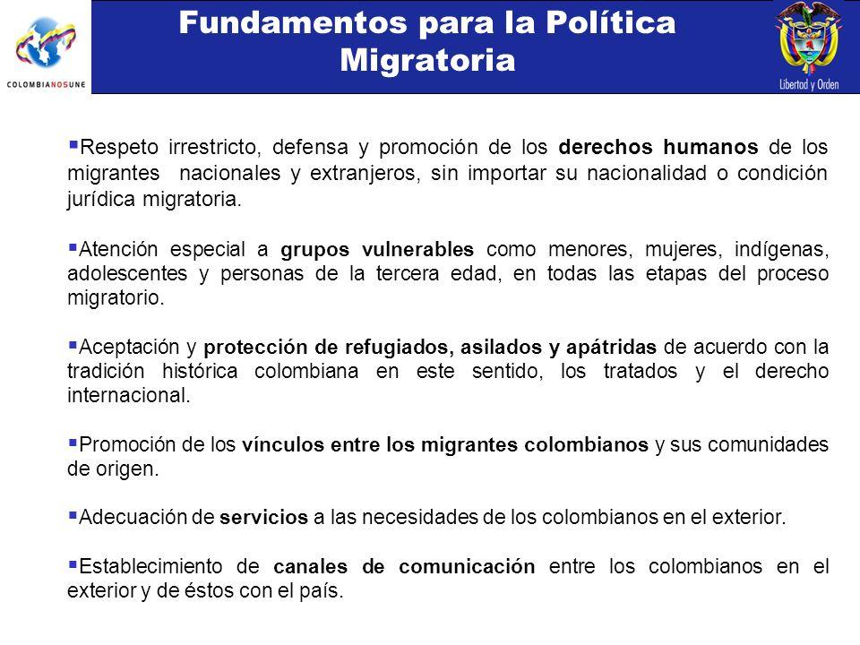 Respeto irrestricto, defensa y promoción de los derechos humanos de los migrantes nacionales y extranjeros, sin importar su nacionalidad o condición jurídica migratoria.
