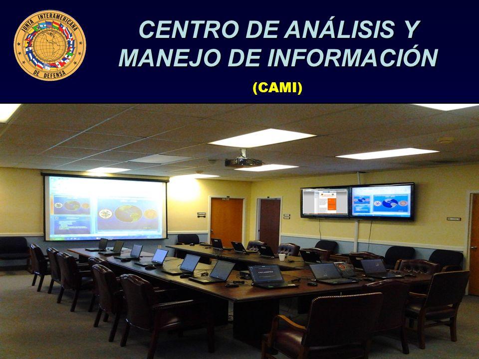 CENTRO DE ANÁLISIS Y MANEJO DE INFORMACIÓN (CAMI)