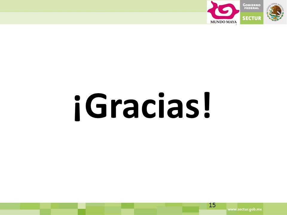 ¡Gracias! 15
