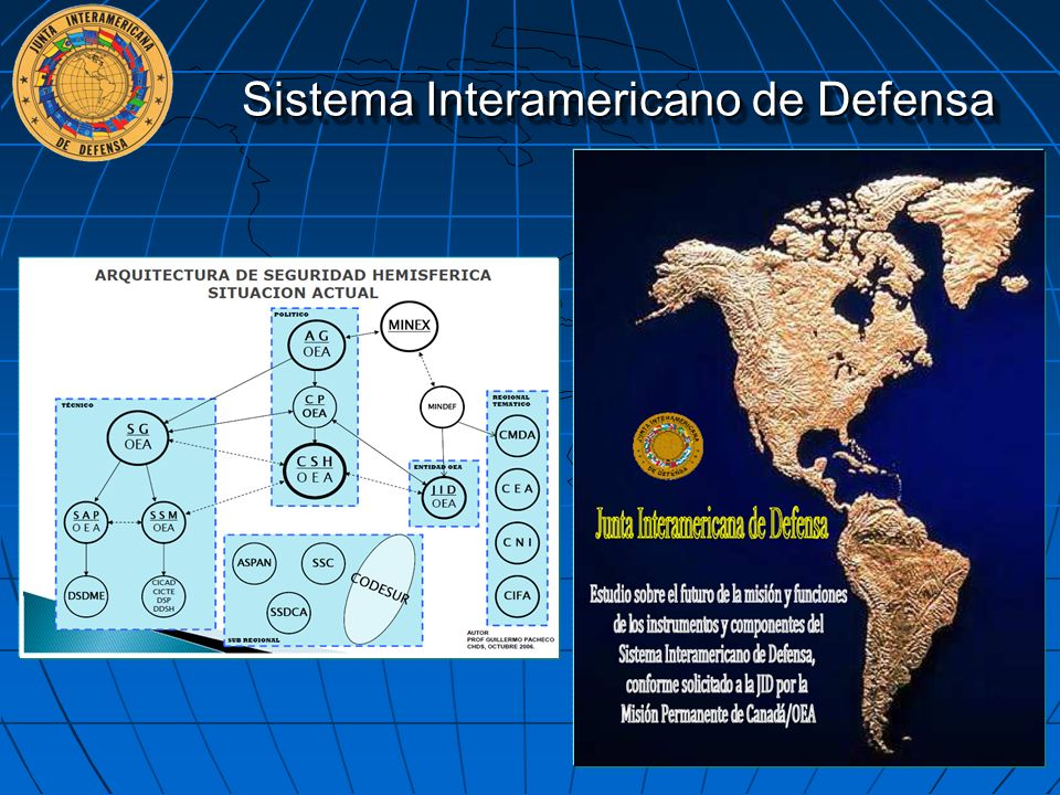 Sistema Interamericano de Defensa 17