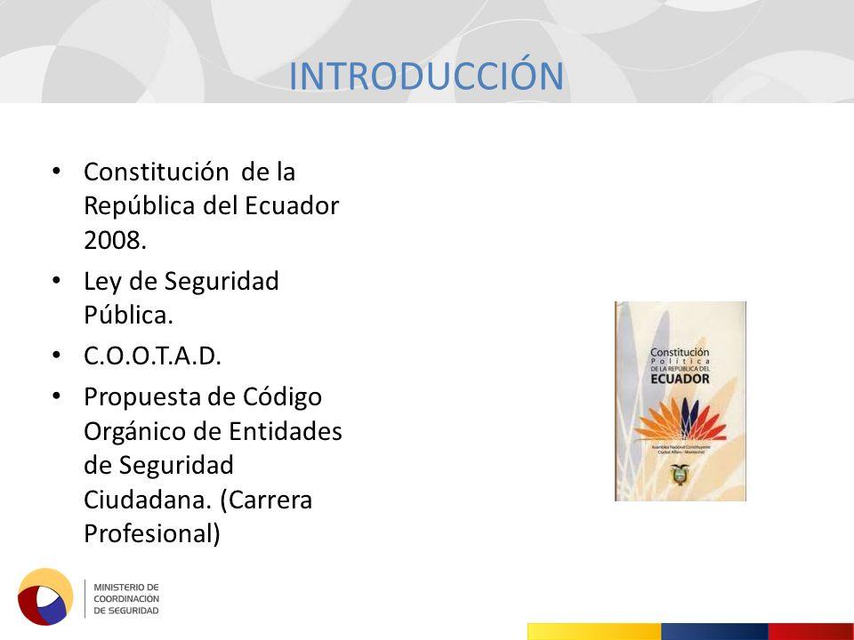 INTRODUCCIÓN Constitución de la República del Ecuador 2008.