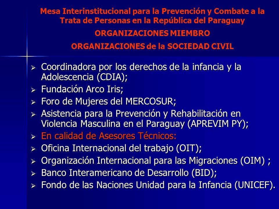 Coordinadora por los derechos de la infancia y la Adolescencia (CDIA); Coordinadora por los derechos de la infancia y la Adolescencia (CDIA); Fundació