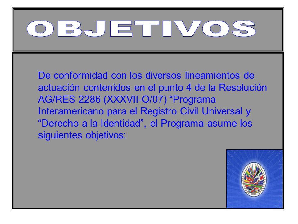 1.UNIVERSALIZACIÓN Y ACCESIBILIDAD DEL REGISTRO CIVIL Y EL DERECHO A LA IDENTIDAD.