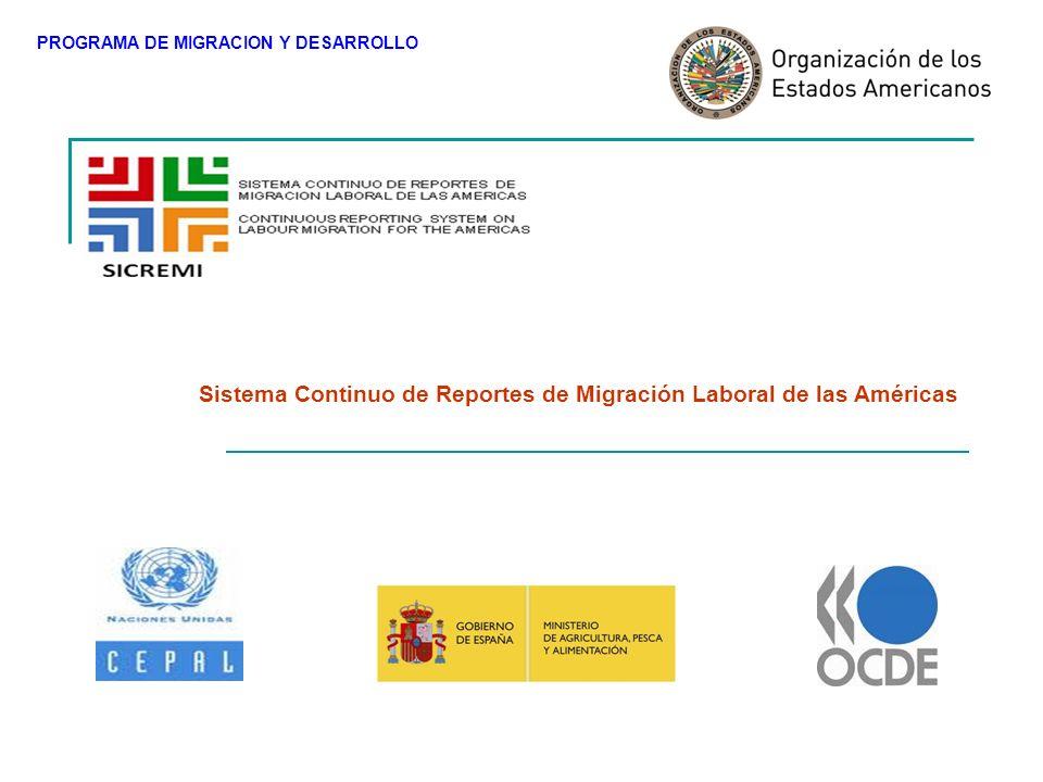 Es un sistema de generación de información precisa y oportuna sobre la migración laboral, basado en el modelo SOPEMI creado por la OCDE para sus estados miembros.