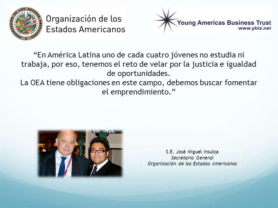 En América Latina uno de cada cuatro jóvenes no estudia ni trabaja, por eso, tenemos el reto de velar por la justicia e igualdad de oportunidades.