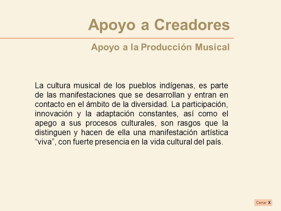 La cultura musical de los pueblos indígenas, es parte de las manifestaciones que se desarrollan y entran en contacto en el ámbito de la diversidad. La