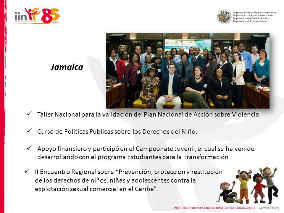 II Encuentro Regional sobre Prevención, protección y restitución de los derechos de niños, niñas y adolescentes contra la explotación sexual comercial en el Caribe.