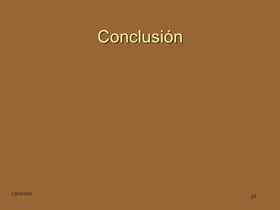 26 Conclusión CE00380S