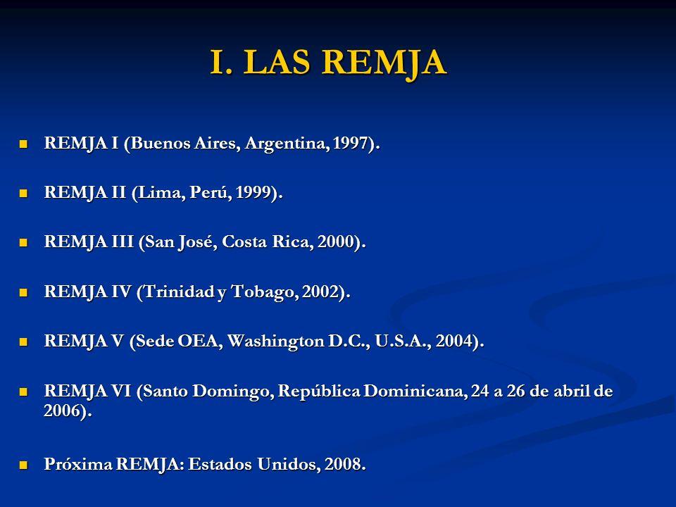 I. LAS REMJA REMJA I (Buenos Aires, Argentina, 1997).
