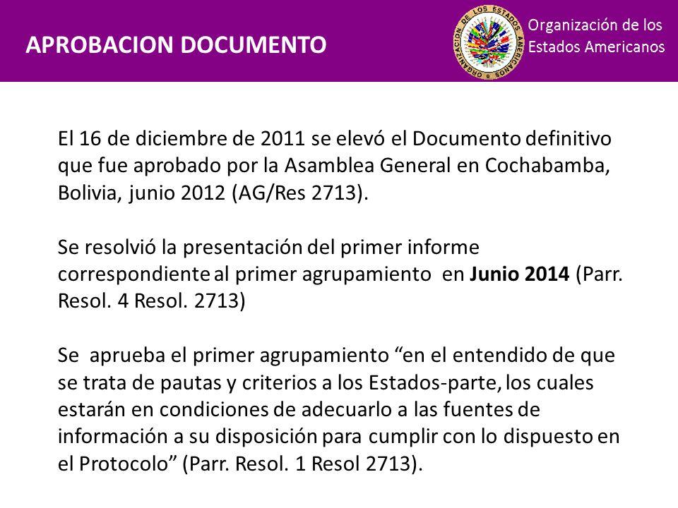 Financiamiento APROBACION DOCUMENTO El 16 de diciembre de 2011 se elevó el Documento definitivo que fue aprobado por la Asamblea General en Cochabamba