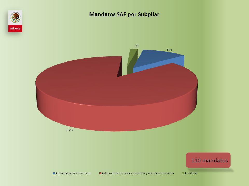 Situación mandatos SAF 2009-2011