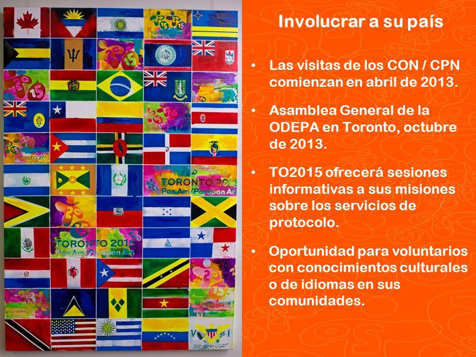 Pan/Parapan Am Toronto 2015 Juegos Panamericanos y Parapanamericanos TORONTO 2015 México Naciones en el metro: Promover el turismo