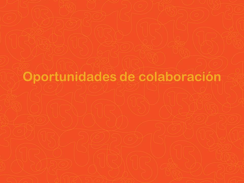 Oportunidades de colaboración