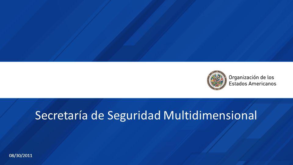 Secretaría de Seguridad Multidimensional 08/30/2011