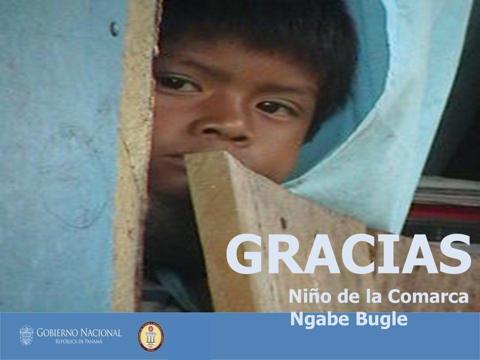 GRACIAS Niño de la Comarca Ngabe Bugle
