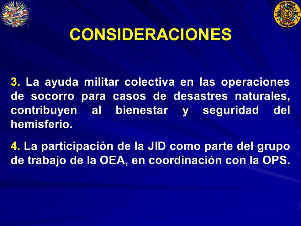 CONSIDERACIONES 4.