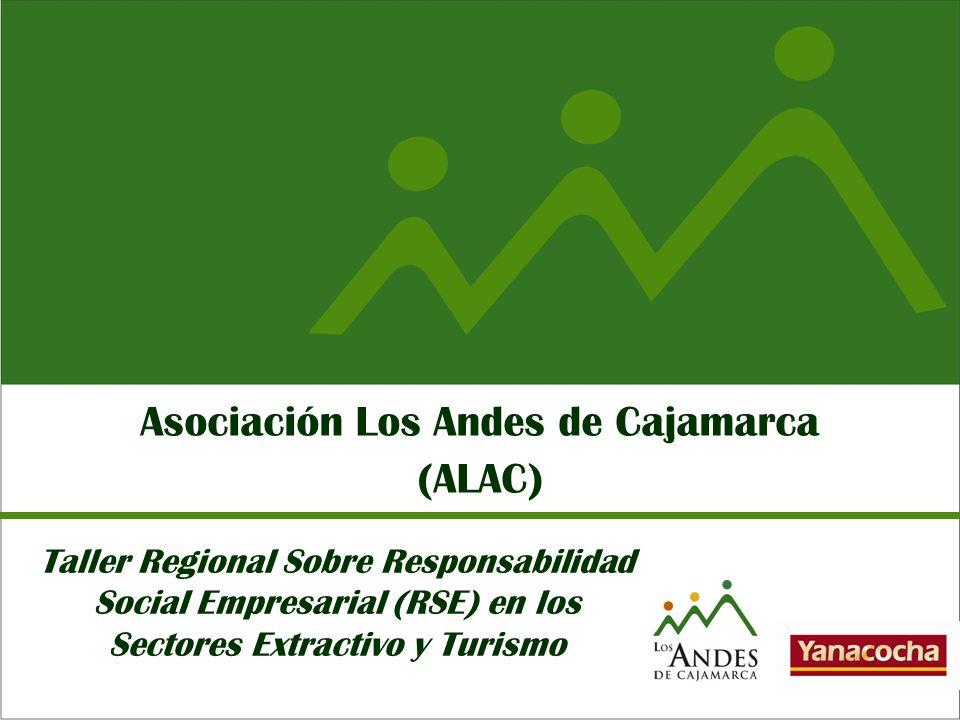 Asociación Los Andes de Cajamarca (ALAC) Taller Regional Sobre Responsabilidad Social Empresarial (RSE) en los Sectores Extractivo y Turismo