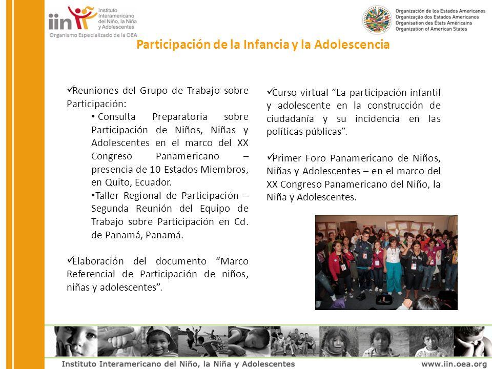 Primer Encuentro de Defensorías Especializadas en Niñez y Adolescencia - Su propósito fue fortalecer las capacidades de defensa y promoción de derechos de la niñez y adolescencia desempeñadas por las Defensorías de la Niñez en Estados Miembros en el ámbito de las Oficinas Nacionales de Ombudsman.