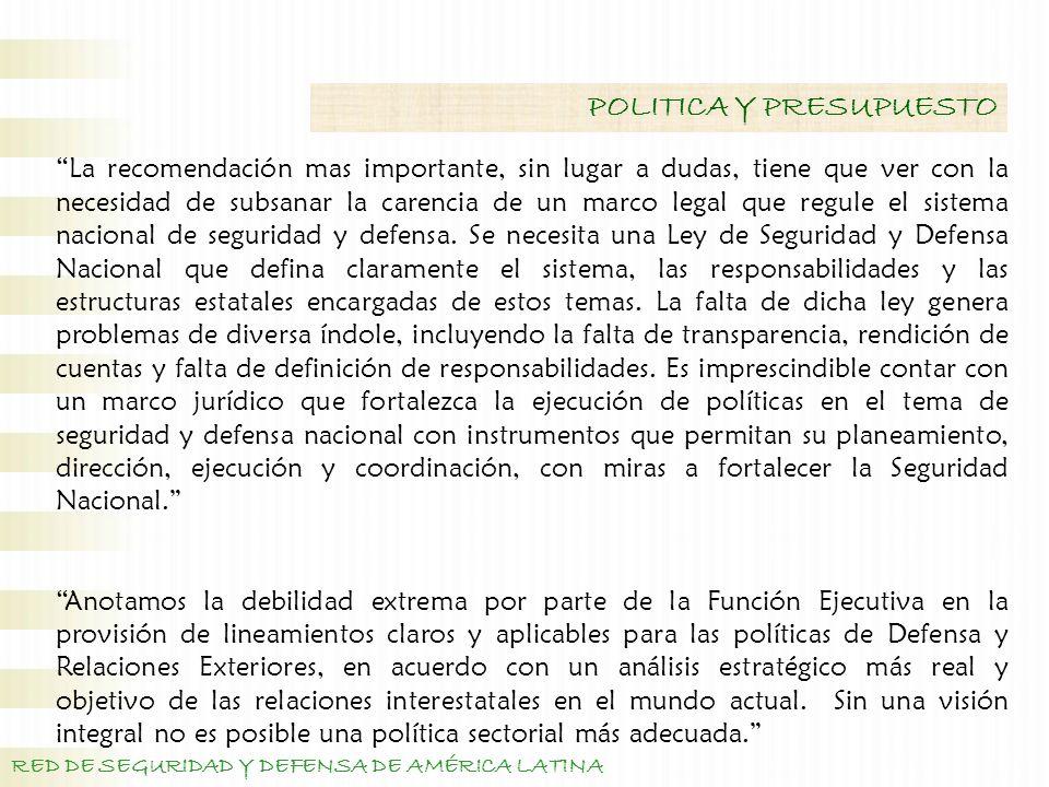 La transparencia de la información: que expresan las dificultades para proveer información centralizada.