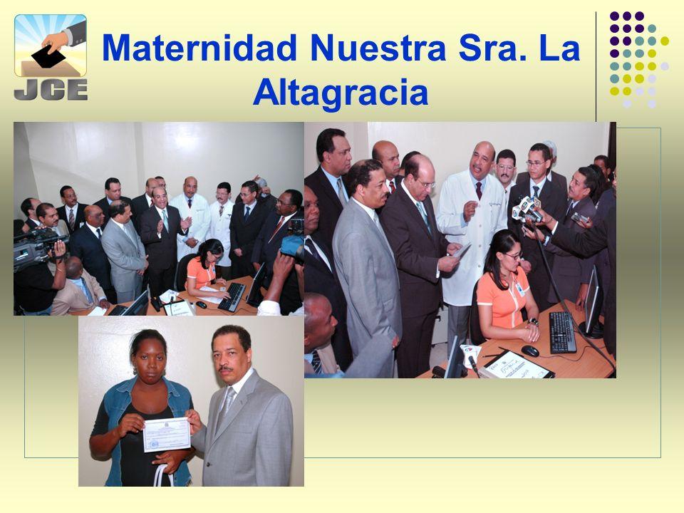 Maternidad Nuestra Sra. La Altagracia