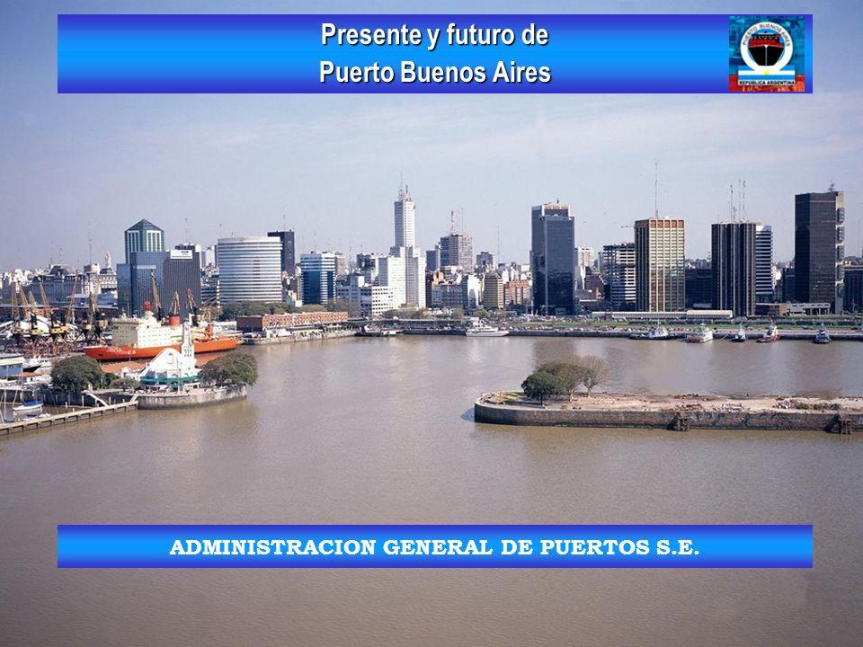 Introducción Puerto Buenos Aires esta realizando un programa de adaptación de las instalaciones portuarias como respuesta al constante incremento de las dimensiones de los buques y de la carga operada.