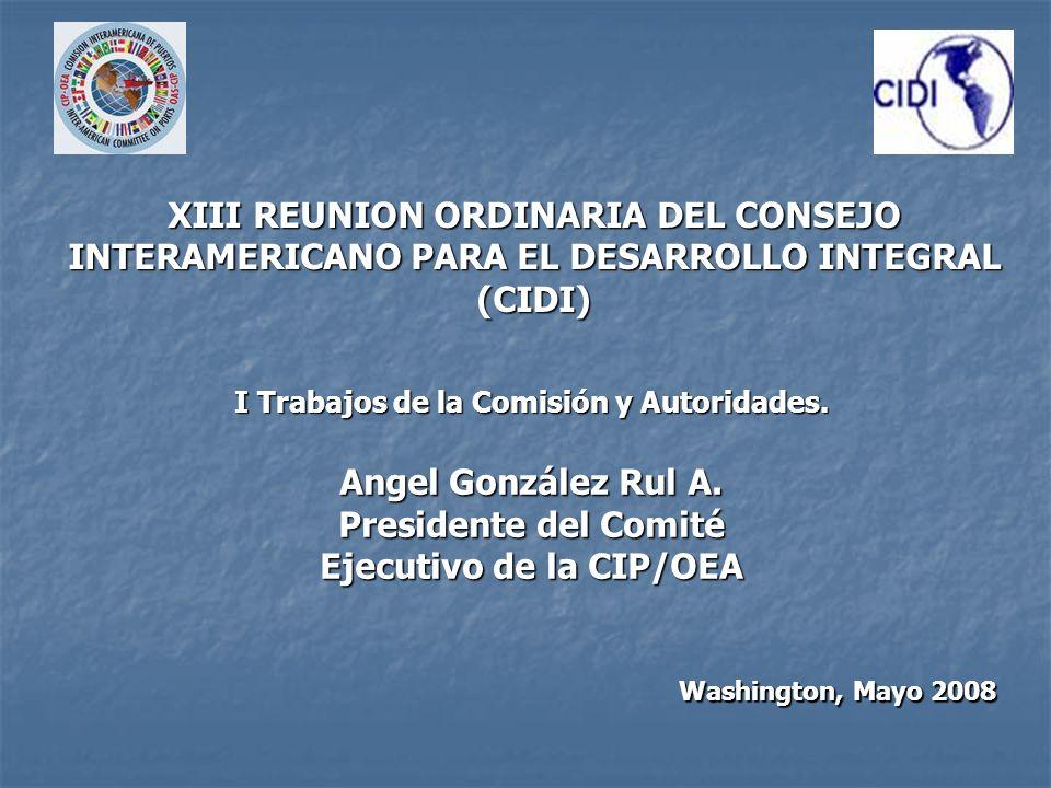 También se han mantenido la cooperación con países observadores y organismos especializados de las Naciones Unidas como es la Organización Marítima Internacional.