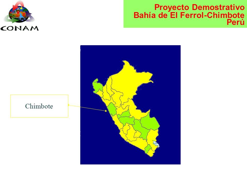Proyecto Demostrativo Bahía de El Ferrol-Chimbote Perú Plan Nacional de Acción Ambiental Diálogos Regionales Ambiental 1996 Prioridades y banco de pro