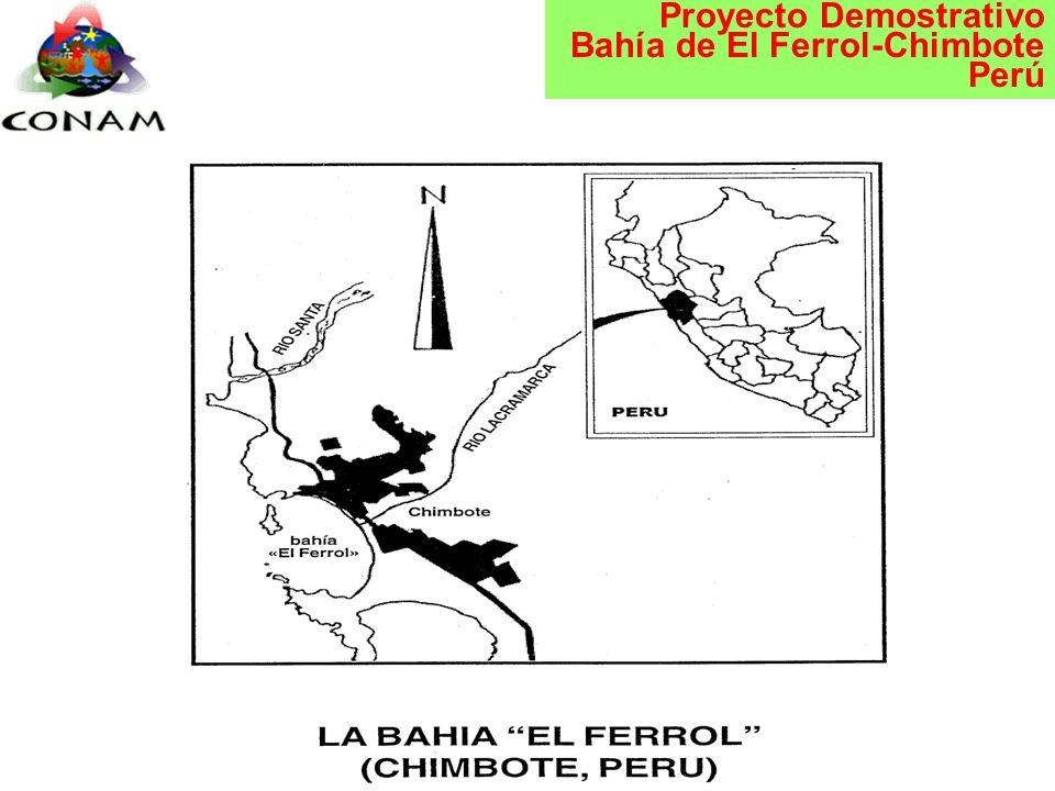 Proyecto Demostrativo Bahía de El Ferrol-Chimbote Perú Chimbote