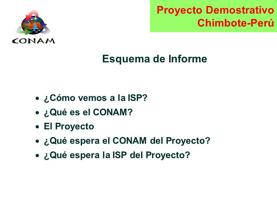 Estrategia Interamericana Participación Pública Proyecto Demostrativo Chimbote - Perú Kingston, 1 Septiembre 1998 CONSEJO NACIONAL DEL AMBIENTE PERU