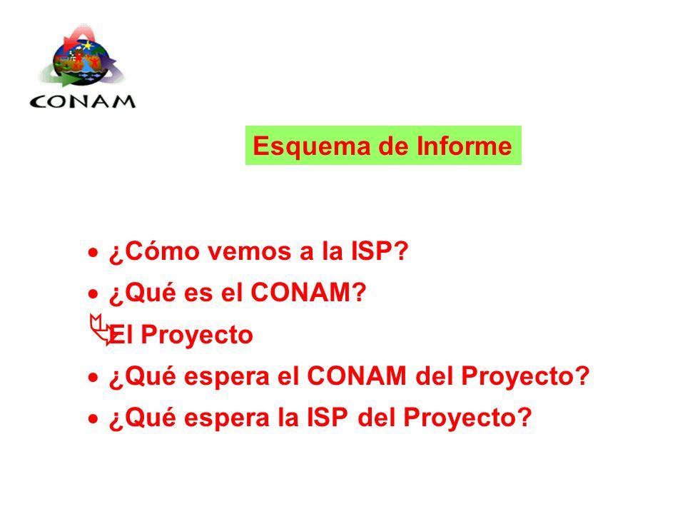 Proyecto Demostrativo Chimbote-Perú ¿Cómo vemos a la ISP.