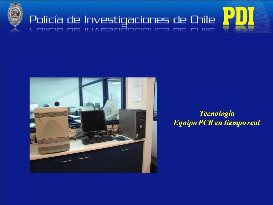 Tecnología Equipo PCR en tiempo real