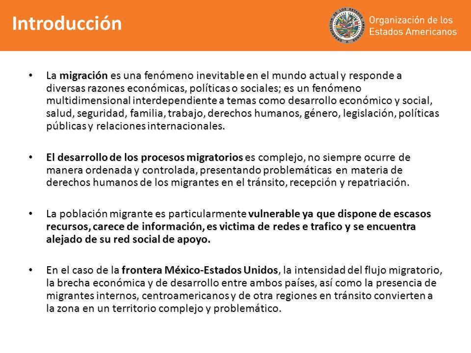 La migración es una fenómeno inevitable en el mundo actual y responde a diversas razones económicas, políticas o sociales; es un fenómeno multidimensi