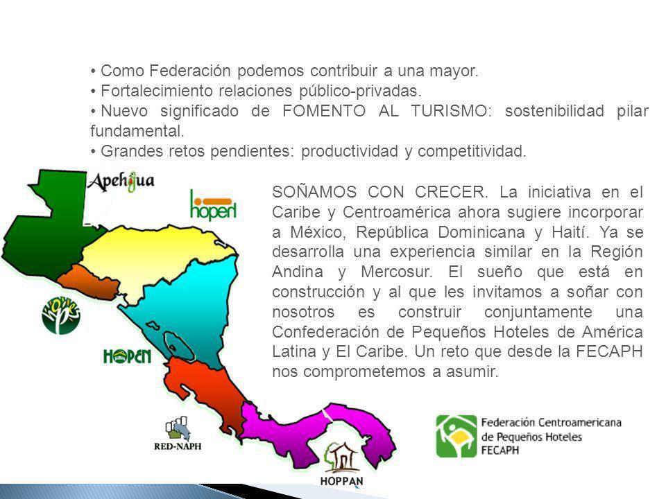 SOÑAMOS CON CRECER. La iniciativa en el Caribe y Centroamérica ahora sugiere incorporar a México, República Dominicana y Haití. Ya se desarrolla una e