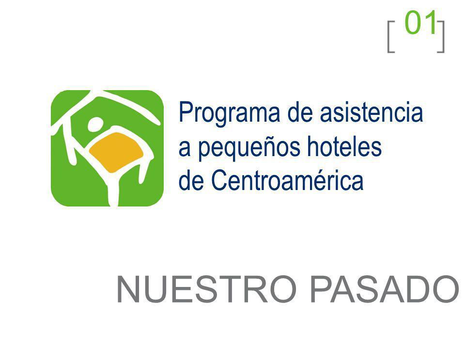 01 NUESTRO PASADO Programa de asistencia a pequeños hoteles de Centroamérica
