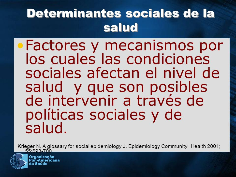 3 Social Justice Empowerment Material Psychosocial political Creating conditions for people to lead flourishing lives www.who.int/social_determinants/en Subsanar las desigualdades en una generación